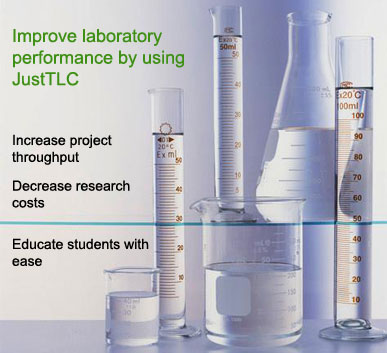 Improve your laboratory performance by using JustTLC